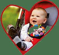 Herz Baby Kinderbetreuung