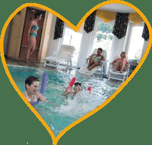 Herz Schwimmbad Wellness