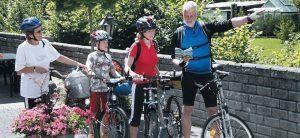 Fahrradfahren im Sauerland