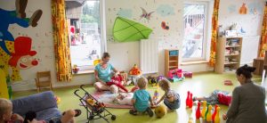Kinderclub Kinderbetreuung auf Monikas Ferienhof