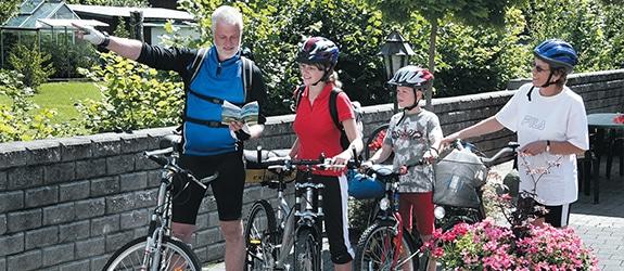 Freizeitmöglichkeiten Fahrradfahren im Sauerland