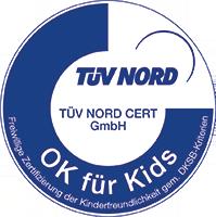 TÜV Siegel Kinderfreundlicher Betrieb